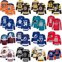 Edmonton-Oiler Connor McDavid Pittsburgh Pinguins Sidney Crosby Washington Capitals Alex Ovechkin Toronto Ahornblätter John Tavares Jersey