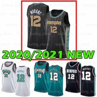 2020 2021 New MemphisGrizzly.JA 12 Morant Jaren 13 Jackson Jr Murray State University College Men Youth Kids Basket Plowys
