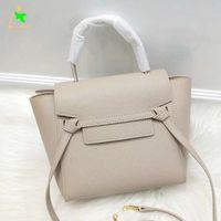 حقيقي جلد نانو حزام حقائب للنساء الأزياء التسوق حقيبة الكتف الشرابة محفظة أعلى جودة ترابيز حمل حقيبة لسيدة