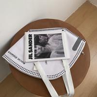 PB0007 Новые поступления Мода Личность Творческая Маска Стиль Дизайнерская Сумочка Сумка Сумка Масштаб Большой Емкость Кордовая сумка Черный Белый 2 Цвета