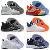 2021 ربيع PG 3 EP Paul George Mens كرة السلة أحذية Palmdale III USA PG3 3S الرياضة رياضية
