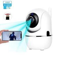 Cámaras de seguridad Cámaras WiFi inalámbricas WiFi Cámaras de Seguridad Inicio Sistema de cámaras de vigilancia 1080P HD con seguimiento de movimiento para la venta
