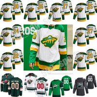 Minnesota Wild 2021 Reverse Retro Jersey 97 Kirill Kaprizov Zach Parise Jason Zucker Jared Spurgeon Matt Dumba Hóquei Jerseys Costume