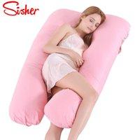 Sostituire il cuscino multifunzionale del corpo del supporto del sonno per le donne incinte cuscini incinti di maternità che ti forma laterale della gravidanza