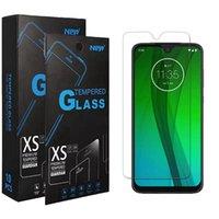 Verre de protecteur d'écran trempé de base anti-rayures de base pour Moto G9 Play E7 Plus G Stylus G Fast E7 E 2020