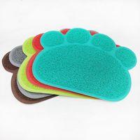 Кровати кошка Мебель для домашних животных Многофункциональный коврик для печати Противоскользящая собака для подстилки Материал подстилки Multi-Color для Placemat Car Door MA