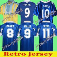 CFC 2011 Retro Soccer Jersey Lampard Torres Drogba 11 12 13 Final 94 95 95 97 99 Camisas de Futebol Camiseta Crespo Wise 03 05 06 07 08 Cole Zola Vialli Gullit 1982 1980