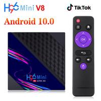 H96 Mini V8 RK3228A Android 10.0 TV Box 2GB + 16 GB 2.4G WiFi HD 4K PK T95 X96Q Media Player