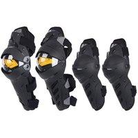 男性用防護スポーツガードモトクロスプロテクターギアのためのオートバイの鎧の膝の肘のコンボの薄手