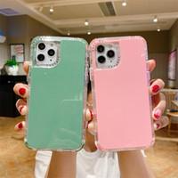Чехлы для телефонов для iPhone 12 Mini 11 Pro Max XS XR 7 8 плюс SE 2 Candy Color Молодая защитная крышка оболочки