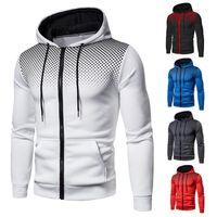 Yeni Sonbahar Bahar erkek Ceketler Rahat Hırka Mont Giyim Erkek Erkek Dış Giyim Fermuar Koşu Koşu Koşu için Kazak Kazak