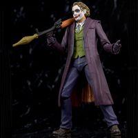 15cm Neca SHF Dark Knight Clown Heath Ledger Joker Männliche Action Puppe Figur Funok Clown Modell Spielzeug mit Kasten