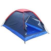 Tende e ripari e riparazioni da campeggio all'aperto Tenda singolo strato Spiaggia Sole Sole Sole 2 Persone Viaggio Antivento Impermeabile Tenda da sole Estate con borsa