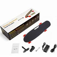 Daibot Kind Elektrischer Roller Vier-Rad-Elektroroller 150w Einzelmotor Tragbare drahtlose Remote-Mini-elektrisches Skateboard