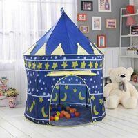 США стоковые портативные складные дети играют в домик всплывают играть в палатка детский замок куббий дом для детей детский подарочный корабль из США
