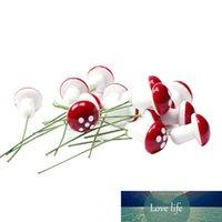 / 20pcs 미니 거품 버섯 숲 공장 시뮬레이션 거품 작은 버섯 정원 장식 꽃 냄비 분재 마이크로 풍경