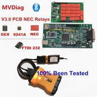Code Readers Scan Tools MVDiag 2021.00 + Keygen / 2021.1 Obdiicat TCS Pro Bluetooth V3.0 PCB دعم W5.00.12 Software MultiDiag MVD OBD2 D