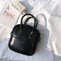 أزياء المرأة حقيبة مصمم صغير أسود أعلى مقبض جودة عالية بو الجلود امرأة