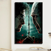 Abstract Harry Potter Movie Poster Prints Classical Wall Art...