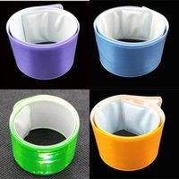손목 밴드 반사 가벼운 작은 선물 많은 색상 크리 에이 티브 클릭 원 밤 실행중인 승마 핸드 공장 직접 판매 1 2ye P1