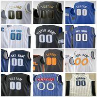 Personnalisé imprimé 50 Cole Anthony Nikola 9 Vucevic Aaron 00 Gordon Jonathan 1 Isaac 10 Fournier Hommes Femme Enfants Orlando Magic Basketball Jerseys