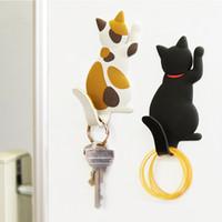 고양이 키티 냉장고 스티커 자석 후크 냉장고 사랑스러운 새끼 고양이 귀여운 동물 장식 키즈 주방 주방 공간 홈 장식