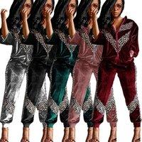 Kadın Eşofman Fixsys Bayan Moda Trendy 2021 Eşofman 2 Parça Set Kış Leopar Baskı Joggers İki Kadınlar Kadın