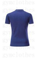 Badminton desgaste t-shirt de mangas de mangas curtas de secagem rápida Correspondência impressões Sportswear Jerseys000007