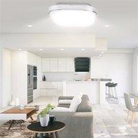 Heißer Verkauf 85-265V LED Deckenleuchte Quadratische Formlichter Wohnzimmer Schlafzimmerlampe stufenloses Dimmen (18W) Hohe helle Premium-Lichter