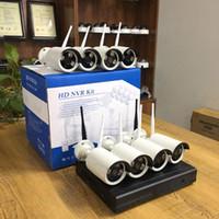 Kits de cámaras inalámbricas Sistema CCTV 960P 8CH HD NVR KIT EXTERIOR IR Visión nocturna IP WiFi Inicio Seguridad Vigilancia