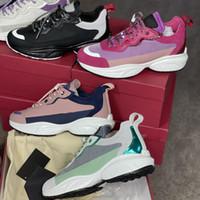 الرجال الفاخرة SheGoes احذية عداء أحذية امرأة منهاج جلدية المطاط الأسود الوردي حذاء مصمم عارضة أحذية أعلى جودة مع صندوق 257