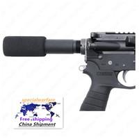 """. 223 5.56 MIL AR-15 M16 Tubo de tampón de pistola con cubierta de la almohadilla de espuma de 3,5 """""""
