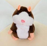 Plüsch sprechen Haustier, die Spielzeug niedlich Hamster-Maus sprechende Sound-Rekord-Hamster Pädagogisches Spielzeug Weihnachten Kinder Geschenke 15
