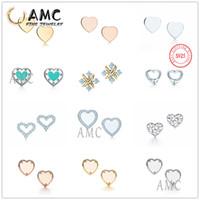 Haut-gamme Qualidade Verde Amor Brincos de Pedra Preciosa, Adquado Para Senhoras Bonitas Para Usar E Melhorar Seu Temperamento