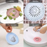 Creative Anti-Blocking Catcher Plug Tap Tapple Ducha Funda Drenaje Fregadero Filtro Filtro Baño Portátil Accesorios de cocina GWD4444
