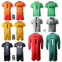 2021 Season Goleiro Novo Cor Correspondência Camisa de Futbol Custom Kit Kit uniformes 1 Lloris Boys Treinando Jersey