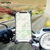 الهاتف الخليوي يتصاعد حاملي دراجة نارية حامل ل x xs ماكس xr الدائم دعم الدراجة