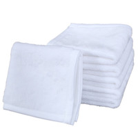 Sublimação em branco Phorm Washcloth 30 * 30cm DIY DIY Wash Face Hand Towel Bath Hair Home Hotel Facecloth Pano Branco 6 82 G2