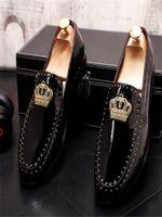 2021 Новое поступление мужская обувь роскошный дизайнер кожа повседневная вождение Oxfords квартиры обувь мужские мокасины мокасины итальянские туфли для мужчин 38-45