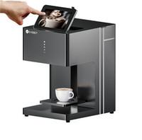 صانعي القهوة طباعة الطعام الفن آلة فعالة من حيث التكلفة التكنولوجيا المتقدمة 3D لاتيه المستخدمة في المنزل المقاهي