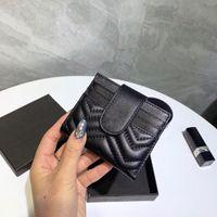 Heißer Verkauf und Großhandel Top Schaffell Brieftasche Mode Damen Karton Tasche Frauen Geldbörse Kurzwallet 12 Karte + Banknote Bit