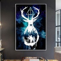 Classical Harry Potter Magic Movie Poster Prints Wall Art Ca...
