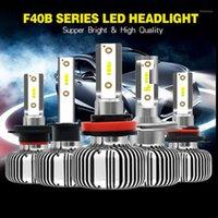 Araba Farlar Jiamen H1 LED H7 H4 H11 Sis Işık 9006 9005 4 3 6000 K 9012 HIR2 12 V Otomotiv Enerji Tasarrufu Bulb1