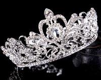 2021 مهرجان quinceanera تيجان الزفاف للنساء بلينغ حجر الراين الديكور الشعر مجوهرات أغطية الرأس الزفاف