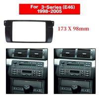 Автомобиль Audio 2 DIN Radio Fassia для E46 3 серии Стерео панель DVD адаптер DVD Ref Ref Ref Ref Reash 173x98mm