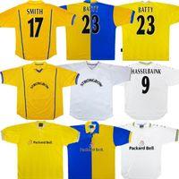 Retro Klasik Futbol Formaları 1972 1978 1998 1995 1996 1999 2000 2001 Leeds Yeboah Smith Futbol Gömlek