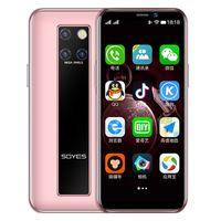 "Realme Soyes Mobiltelefone entriegelt Cellphones 3,5 ""4g lte Android9.0 Smartphones Moviles 3 + 64 GB 2100mAh mit Face Unlock für Mädchen Frauen"