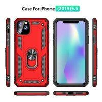 Ring Bracket Shockproof Phone Case for iPhone 12 11 Pro Max 7 8 Plus X XR XS MAX Samsung Note 10 J6 S10 A50 M30 A10 A20 J4 M20