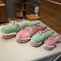 Cute Red Green Animal Crocodile Stuffed Plush Toy Pillow Dolls Child Kids Girl Friend Gifts Toy