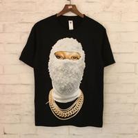Stranger Thone T Shirt da uomo Diamante Diamante Mascherato Donna 3D Stampa T-Shirts IH Nom Nom Uh Nit Paris Limited Stranger Thirt Y19072201